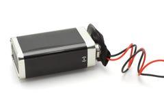 9v batterij stock afbeeldingen