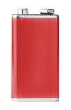 9V batterij royalty-vrije stock afbeeldingen