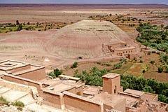 Aït Benhaddou被加强的村庄在摩洛哥 库存照片