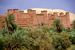 Aït Benhaddou fortified village in Morocco royalty free stock images