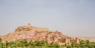 Aït Benhaddou, Morrocan wioska Fotografia Royalty Free