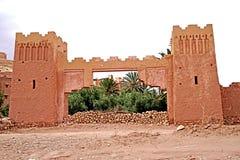 Aït Benhaddou warowna wioska w Maroko Zdjęcia Stock