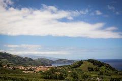 Açoreseiland het groene eiland Stock Fotografie