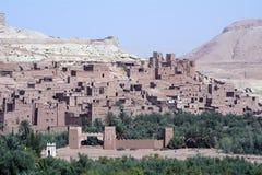 Aït Benhaddou Maroko Obraz Stock