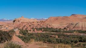 Aït Benhaddou, point de repère du Maroc Photos libres de droits