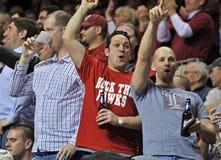 Ação 2011-12 do basquetebol do NCAA Fotografia de Stock Royalty Free