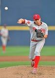 Ação 2012 do basebol do campeonato menor Imagens de Stock