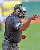 Ação 2012 do basebol do campeonato menor Fotografia de Stock Royalty Free