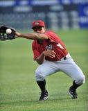 Ação 2012 do basebol do campeonato menor Fotos de Stock Royalty Free