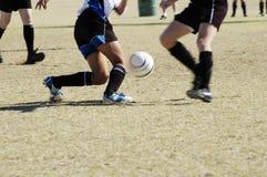 Ação 3. do futebol. Imagens de Stock