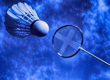 Ação artística do badminton Imagem de Stock Royalty Free