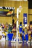 ? Ação asiática do campeonato do Netball Imagem de Stock Royalty Free