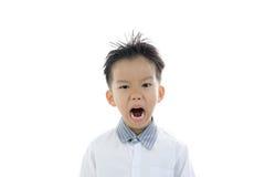 Ação asiática do menino Imagem de Stock