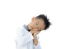 Ação asiática do menino Imagens de Stock Royalty Free