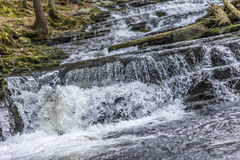 Ação congelada cachoeira Fotografia de Stock Royalty Free