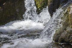 Ação congelada cachoeira Fotos de Stock Royalty Free