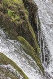 Ação congelada cachoeira Foto de Stock