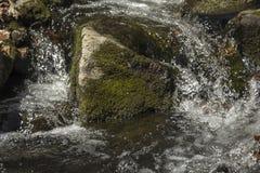 Ação congelada cachoeira Foto de Stock Royalty Free