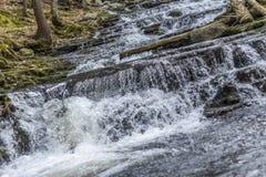 Ação congelada cachoeira Imagem de Stock