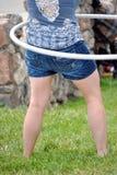 Ação da aro de Hula Foto de Stock Royalty Free