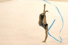 Ação da ginástica Fotos de Stock