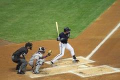 Ação da Liga Nacional de Basebol Foto de Stock Royalty Free