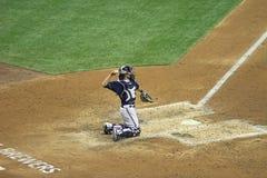 Ação da Liga Nacional de Basebol Imagem de Stock Royalty Free