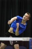 Ação da velocidade de Canadá do Badminton Imagem de Stock Royalty Free