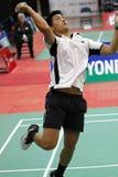 Ação de Brasil do Badminton Foto de Stock Royalty Free