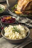 Ação de graças caseiro batatas trituradas Fotos de Stock