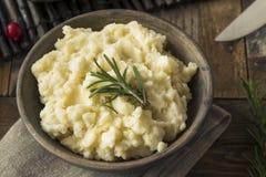 Ação de graças caseiro batatas trituradas Fotografia de Stock Royalty Free