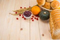 Ação de graças feliz - fruto do outono para a ação de graças Imagens de Stock Royalty Free