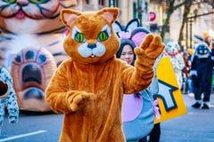Ação de graças Macy Parade 2015 Fotos de Stock