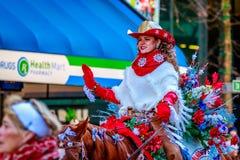Ação de graças Macy Parade 2015 Foto de Stock