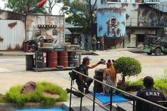 Ação de Hollywood Mundo ideal, Banguecoque, Tailândia Imagens de Stock Royalty Free