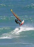 Ação de Sailboarding imagem de stock royalty free