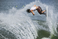 Ação de Shortboard dos homens - Ryan Dodd Fotos de Stock