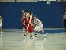 Ação do basquetebol Imagens de Stock
