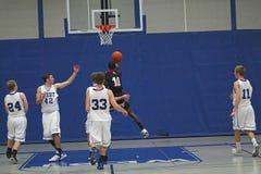 Ação do basquetebol Imagem de Stock Royalty Free