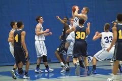 Ação do basquetebol Foto de Stock Royalty Free