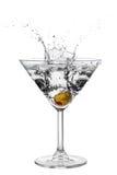 Ação do cocktail Imagens de Stock