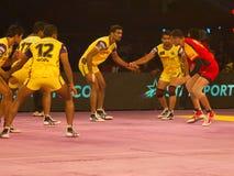 Ação do esporte de Kabaddi Imagem de Stock Royalty Free