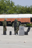 Ação do esquadrão da morte Imagem de Stock