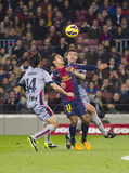Ação do futebol Imagem de Stock Royalty Free