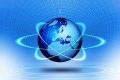 Ação do globo do mundo Foto de Stock