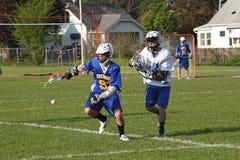 Ação do Lacrosse Imagem de Stock Royalty Free