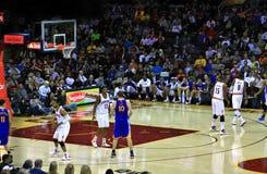 Ação do pro basquetebol Imagem de Stock Royalty Free