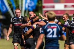 Rugby final de vencimento Outeniqua do assobio Imagens de Stock Royalty Free