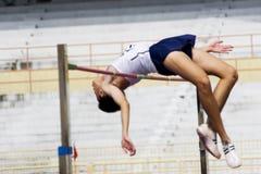 Ação do salto elevado (borrada) Imagens de Stock Royalty Free