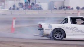 Ação dos esportes automóveis das corridas de carros filme